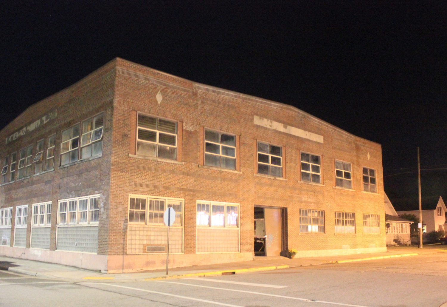 The former vocational school and armory building on West Main Street is undergoing a revitalization after years of neglect.