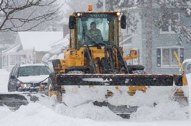 Snow emergency declared in local cities