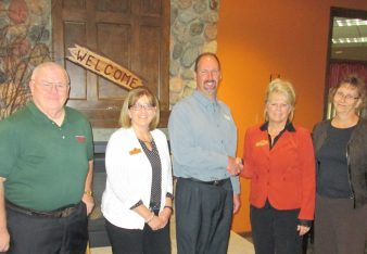 Pictured from left are John Ronis, Audrey Cordova, Mark Zulliger, Kathy Rankin and Jean Zoellner.